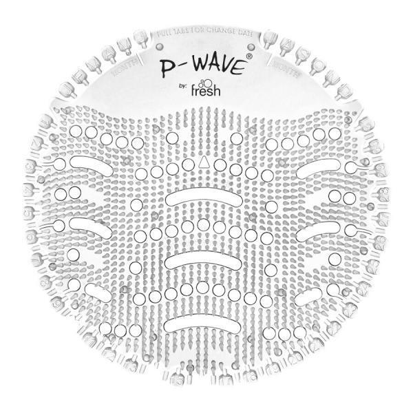 PN1203 Honeysuckle P Wave Urinal Screen. 30 Days of Fragrance.