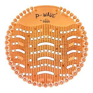PN1204 Mango P Wave Urinal Screens. 30 days fragrance. Individually bagged.