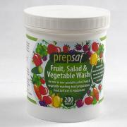 PN570 200 Prepsaf Salad Wash Tablets for all non-peelable salad and fruit. Makes an accurate easy to dose solution and meets the needs of due diligence.