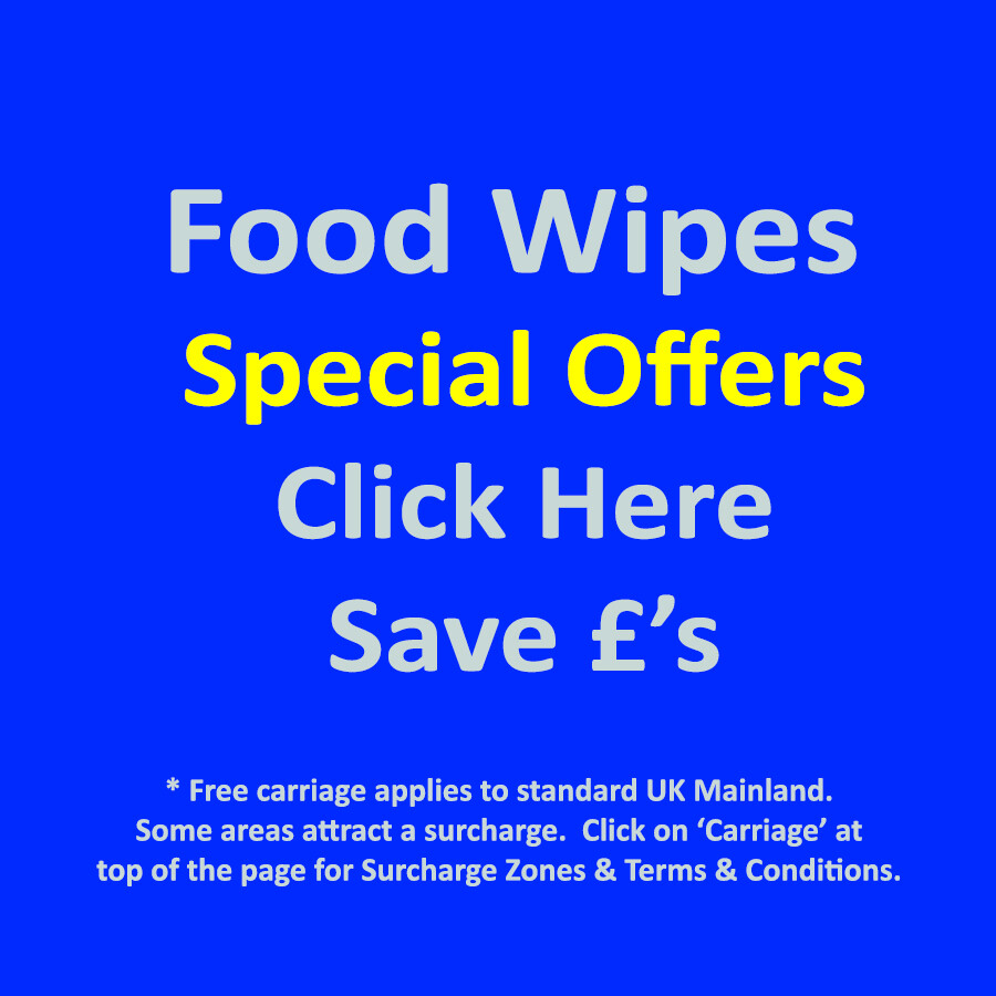 Food Surface Wipe BUNDLE OFFERS - SAVE £'s