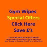 Special offers for bundle purchases of Gym Wipes