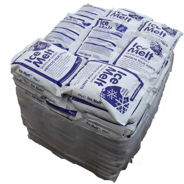 Pallet 100 x 10Kg Sacks Ice Melt