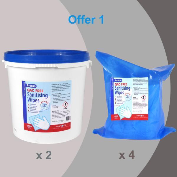 PN129 Offer 2 x 1500 QAT Free Bucket + 4 x 1500 QAT Free refill