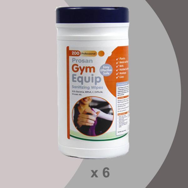 PN1027 6 X 200 Gym Wipes