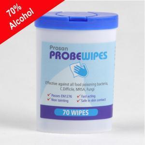 PN138 70% Alcohol Probe wipes - 70 per tub