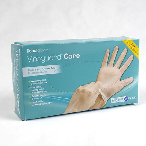 Medium Size Vinyl Gloves 100 per box PN1504M