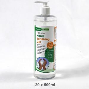 20 x 500ml 70% Alcohol Hand Sanitising Gel