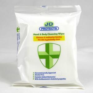 PN311 Pack of 20 Hand & Body Sanitising Wipes