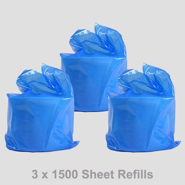 PN1035 3 x 15000 Sheet Gym Wipe Refills