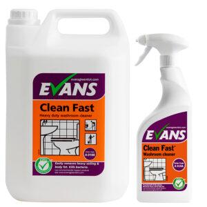 PN1419 & PN1418 Clean Fast 5L & 750ml - Evans A010EEV