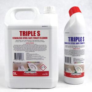 PN5415 & PN5416 Tripple S Stainless Steel Safe Toilet Cleaner