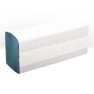 PN415 Green 1 Ply Z-Fold Hand Towel