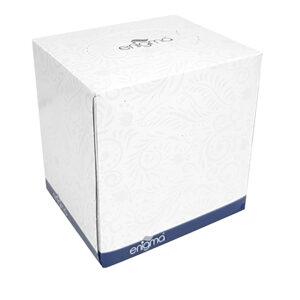 PN416 Cubed Facial Tissue - 70 sheet box 2 ply 200mm x 190mm